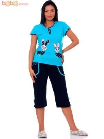 Pijama Dama Rubby Blue